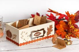 thanksgiving decorations simple thanksgiving decoration thankful box craft