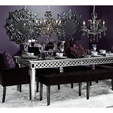 Mirrored Dining Room Furniture Mirrored Dining Room Tables Mirrored Dining Table Rizz Homes