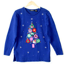 sweater christmas tree ornament cashmere sweater england