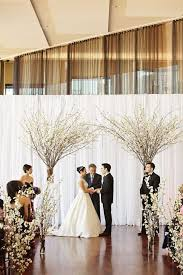 wedding backdrops wedding back drops 30 winter wedding backdrops that excite