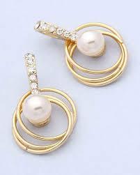 danglers earrings design how to choose pearl earrings design quora