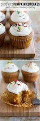 pumpkin cupcakes with cream cheese frosting taste and tell