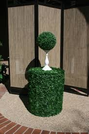 Fake Shrubs 122 Best Decorating Images On Pinterest Topiaries Artificial