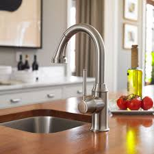 polished nickel kitchen faucet hansgrohe 04216830 talis c prep kitchen faucet in polished nickel