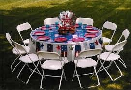 renting tables table and chair rentals