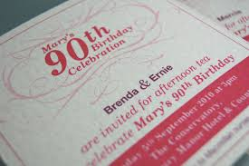 90th birthday invitations wording invitations templates