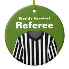 referee ornaments keepsake ornaments zazzle