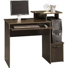 techni mobili double pedestal laminate computer desk chocolate techni mobili super storage computer desk in chocolate finish buy