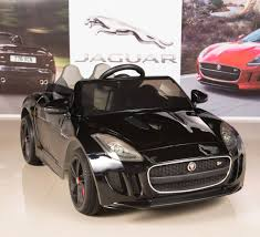 toddler motorized car amazon com jaguar f type 12v kids ride on battery powered wheels