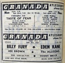granada aylesbury 1961 stage shows u2013 aylesbury music town