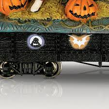 hawthorne village halloween amazon com the nightmare before christmas train car ghoulish