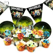 ninjago party supplies party supplies 41pcs for 8kids ninjago theme birthday party