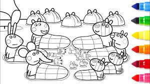 coloring pages peppa the pig peppa pig friends together coloring pages peppa coloring book