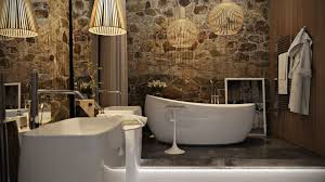 Stone Bathroom Designs 5 Luxury Bathrooms In High Detail