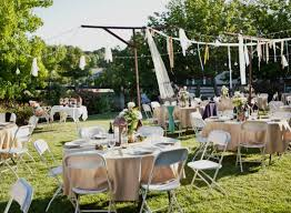 Small Backyard Wedding Ideas Small Backyard Wedding Home Design And Idea Backyard Wedding