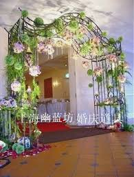 wedding arches supplies the new korean flower door arches continental iron door wedding