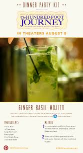 ginger basil mojito recipe from the movie
