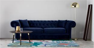 Blue Leather Chesterfield Sofa Leather Chesterfield Sofa Montreal Www Cintronbeveragegroup