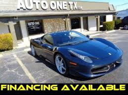 458 italia used for sale used 458 italia for sale in fort worth tx edmunds