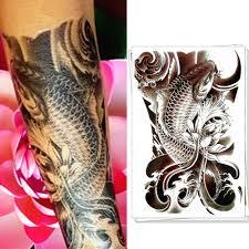 online buy wholesale koi temporary tattoo from china koi temporary