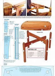 walnut game table plans u2022 woodarchivist