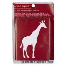 craft smart stencils animals
