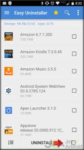 uninstaller android the fastest way to uninstall apps on android