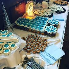 dessert table for the