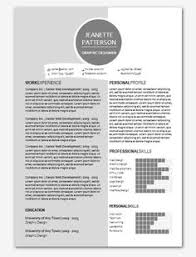 Word Template For Resume Modern Microsoft Word Resume Template Lahfah By Inkpower 12 00