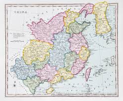 Map Of China by Map Of China 1825