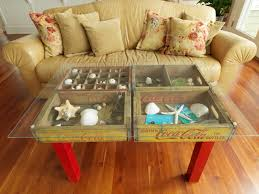 coffee tables astonishing crate coffee table how to make using