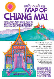 Tripadvisor Map Nancy Chandler U0027s Map Of Chiang Mai 19th Ed Nancy Chandler And