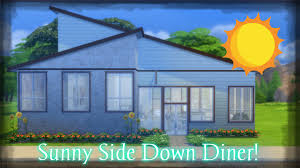 speed renovation the sims 4 pre made restaurant sunny side down