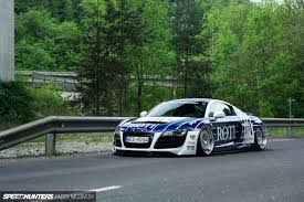audi r8 slammed why so serious a bagged r8 built to incite speedhunters