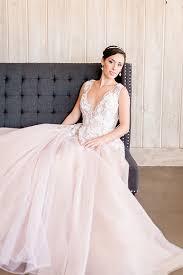 1985 wedding dresses styling a modern bridal tiara with a blush wedding dress blush