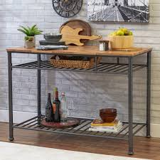 Stainless Steel Kitchen Prep Table Fully Adjustable Bottom Shelf - Kitchen prep table