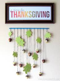 printable thanksgiving decorations stayathomeartist com thanksgiving printable u0026 acorn wall hanging