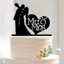 wedding cake toppers mr mrs acrylic cake topper custom wedding cake topper