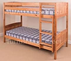 Pine Bunk Bed Solid Antique Pine Bunk Bed Splits Into 2 X Single Beds Mattress