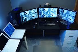 Gaming Computer Desks For Home Computer Desks For Gaming Home Design Ideas