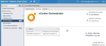 vcenter orchestrator vco 5 5 part 3 using vco and running a