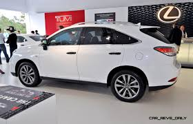 latest lexus suv 2015 2015 lexus rx350 crafted line pebble beach debut in detail