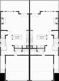 2 floor plans with garage craftsman duplex house plans luxury townhouse plans 2 bedroom