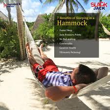 sleeping in a hammock has so many health benefits reason enough