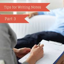 Writing Counselling Session Notes Practice Note Template Practice Kickstart