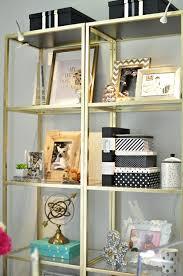 Shelves For Office Ideas Best 25 Gold Shelves Ideas On Pinterest Rose Gold Rooms Gold