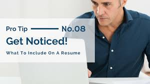 Job Resume What To Include by What To Include On A Resume In 2017 Meritude