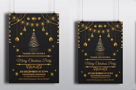 christmas party invitations template christmas party flyer