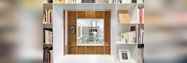 magasins de cuisine les sché combine une bibliothèque et le magasin de gâteau pour