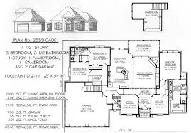 3 bedrooms 1 story 2201 2700 square feet